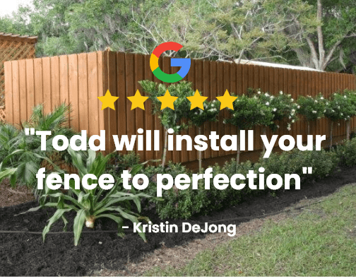 5 star review fence in port st lucie fl